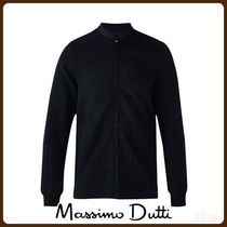 MassimoDutti♪TEXTURED WEAVE QUILTED JACKET