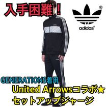 adidas Orginals by United Arrows 3ストライプセットアップ