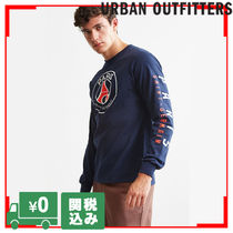 Urban Outfitters(アーバンアウトフィッターズ) Tシャツ・カットソー Urban Outfitters Paris サンジェルマン L/S 袖プリント Tシャツ