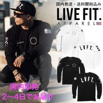 国内発送・送料関税込☆LIVE FIT☆Athlete Long Sleeve
