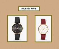Woman's Pyper Gold‐Tone and Leather watch