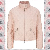 【MONCLER GAMME ROUGE】 Cabrioleピンクジップダウンジャケット