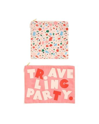ban.do ポーチ 即納ban.do large carryall duo - confetti/traveling party(2)
