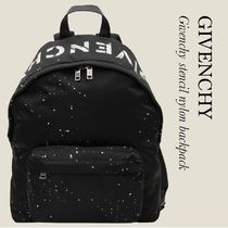 GIVENCHY Givenchy stencil ナイロンバックパック