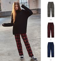 ACOVER(オコボ) パンツ 【ACOVER】TARTAN CHECK PANTS(3color) - UNISEX