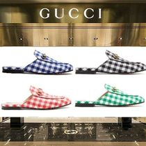 2018-19AW☆GUCCI Princetownギンガムローファー 4色