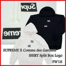 Supreme Comme des Garcons SHIRT Split Box Logo Hooded
