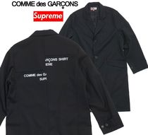 Supreme Comme des Garcons SHIRT Wool Overcoat WEEK 4  18 FW