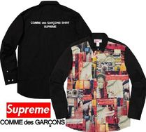 Supreme Comme des Garcons SHIRT Patchwork Button Up Shirt