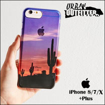Urban Outfitters☆ 砂漠サボテン柄☆ iPhoneケース(7/8/X+Plus)