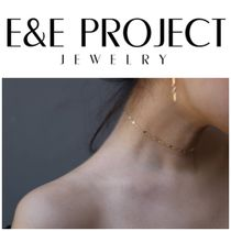 E and E PROJECT/14KGF Chain Laceチョーカー