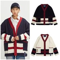 日本未入荷ROMANTIC CROWNのButton Cable Knit Cardigan 全2色