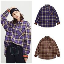 日本未入荷ROMANTIC CROWNのRMTCRW Check Shirt 全2色