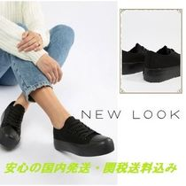 New Look Basic Lace Up Trainer♪