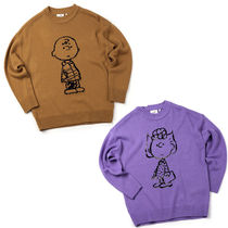 ★STEREO VINYLS★コラボ [FW18 Peanuts] Pullover Knit 全2色