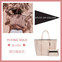 ◆STATE OF ESCAPE◆人気◆ Flying Solo ◆軽量トートバッグ(小)
