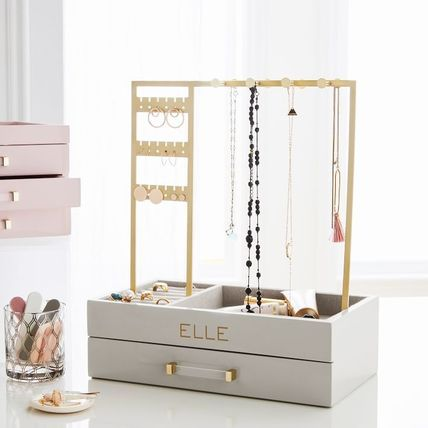 Pottery Barn 棚・ラック・収納 Pottery Barn Elle Lacquer Jewelry Display Stand スタンド(2)