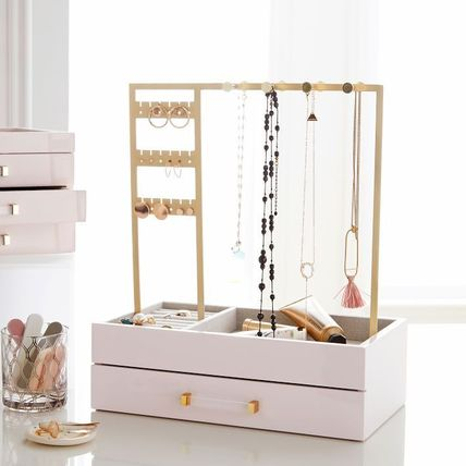 Pottery Barn 棚・ラック・収納 Pottery Barn Elle Lacquer Jewelry Display Stand スタンド(3)