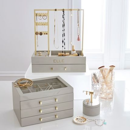 Pottery Barn 棚・ラック・収納 Pottery Barn Elle Lacquer Jewelry Display Stand スタンド(4)