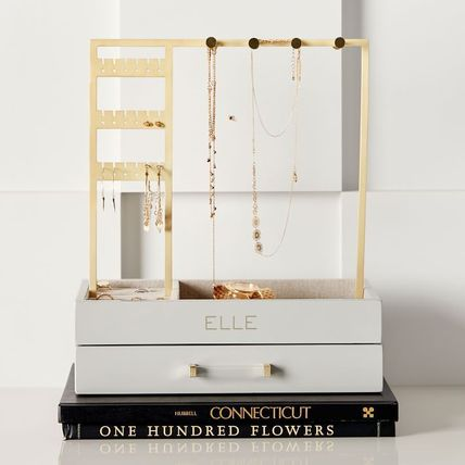 Pottery Barn 棚・ラック・収納 Pottery Barn Elle Lacquer Jewelry Display Stand スタンド(8)