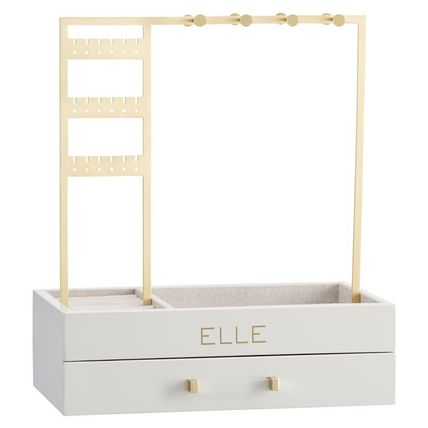 Pottery Barn 棚・ラック・収納 Pottery Barn Elle Lacquer Jewelry Display Stand スタンド(9)