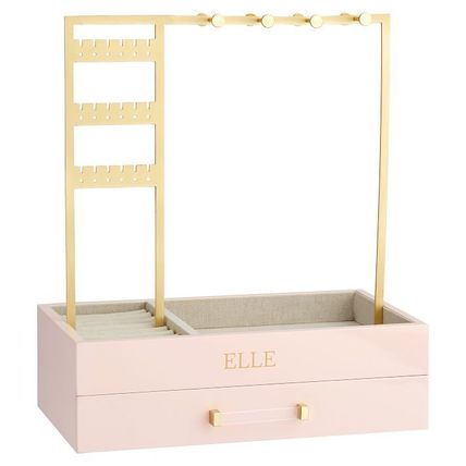 Pottery Barn 棚・ラック・収納 Pottery Barn Elle Lacquer Jewelry Display Stand スタンド(10)