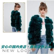 New Look Fluffy Faux Fur Coat♪