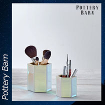 Pottery Barn Iridescent Beauty Cups 収納 ケース
