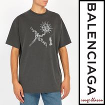 【国内発送】Balenciaga Tシャツ Goth oversized cotton T-shirt