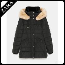 ★ZARA TRF★  WATER-RESISTANT QUILTED PARKA