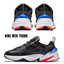 NIKE★M2K TEKNO★ダッドスニーカー DARK GREY/BLACK/RACER BLUE
