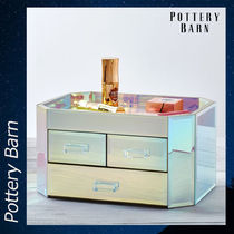 Pottery Barn Iridescent Beauty Box 化粧箱 ボックス 収納