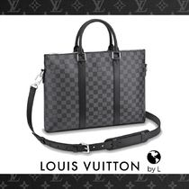 N40024【Louis Vuitton】ブリーフケース ダミエ・グラフィット