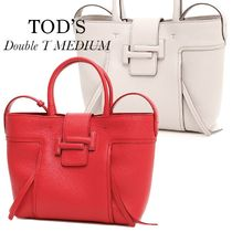 TOD'S  DOUBLE T SHOPPING BAG MEDIUM
