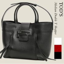 TOD'S(トッズ) トートバッグ TOD'S  DOUBLE T SHOPPING BAG MEDIUM