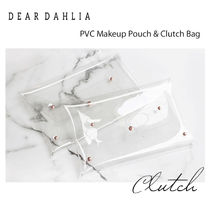DEAR DAHLIA◆クリアクラッチバッグ(メイクポーチ)《追跡送》