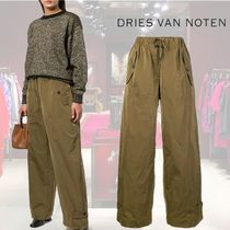 【18AW】★Dries Van Noten★elastic waist flared trousers
