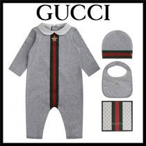 GUCCI★ベビー ロンパース ギフト3点セット★0-12 M