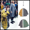 BTS愛用☆AJOBYAJO★Over Check Color Mixed Shirt ★日本未入荷