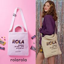 rolarola★ROLA BOUCLE CROSS BAG IVORY