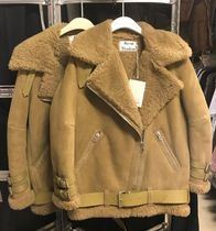 ACNE Velocite Shearling Bronze green ブロンズグリーン