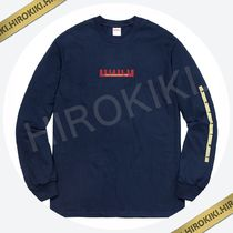 【18AW】Supreme 1994 L/S Tee ロングスリーブ Tシャツ Navy 紺