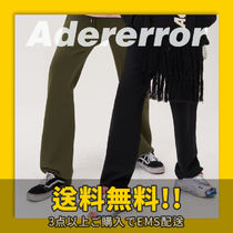 ★ADERerror★ Straight track trousers