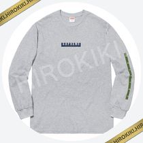 【18AW】Supreme 1994 L/S Tee ロングスリーブ Tシャツ Grey 灰