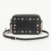 JIMMY CHOO   JOSIE  ショルダーバッグ  BLACK/METALLIC MIX