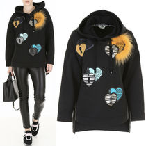 FE2243 OPEN YOUR HEART OVERSIZED HOODIE
