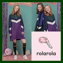 日本未入荷!【rolarola】COLOR BLOCK ANORAK OPS (PURPLE)