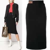 FE2244 STRETCH JERSEY PENCIL SKIRT