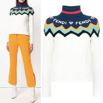 FE2245 WOOL CASHMERE CABLE KNIT SWEATER