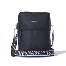 AntiSocialSocialClub Black Side Bag